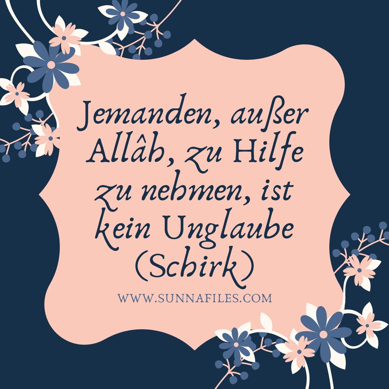 Vergebung bitten um islam jemanden Das höchste