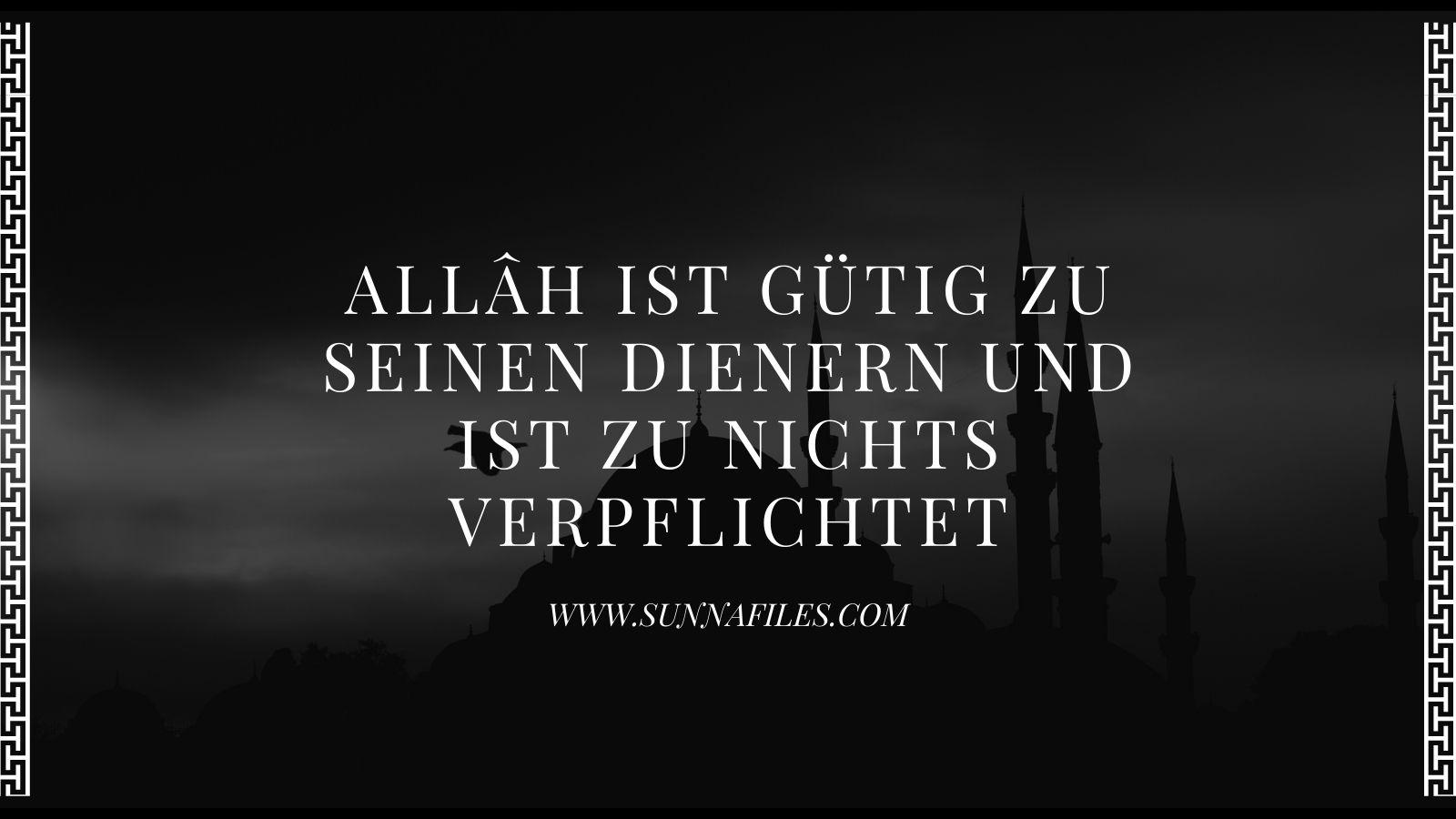 Vergebung bitten um islam jemanden Üble Nachrede,